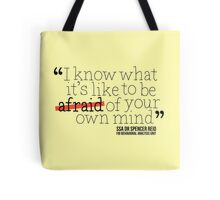 Dr. Spencer Reid's Quote Tote Bag
