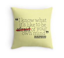 Dr. Spencer Reid's Quote Throw Pillow