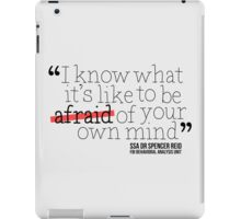 Dr. Spencer Reid's Quote iPad Case/Skin