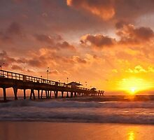 Ft. Lauderdale Sunrise by Don  Powers
