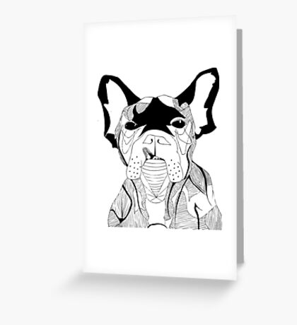 BUTCH Greeting Card