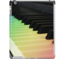 Colorful paino sounds iPad Case/Skin