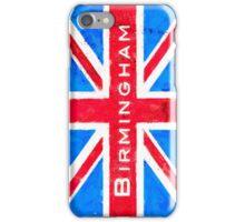 Birmingham Union Jack Vintage Flag iPhone Case/Skin