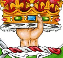 Scottish Crest of Clan Robertson Sticker
