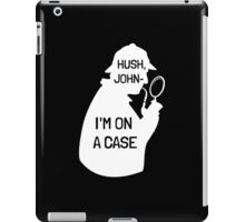 I'm on a (phone-) case iPad Case/Skin