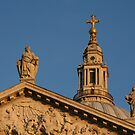 Blue Sky Over St Pauls by Trifle