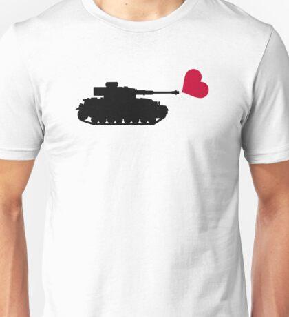 Tank red heart Unisex T-Shirt