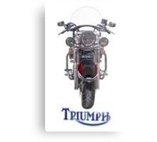 Triumph Thunderbird LT Red Metal Print