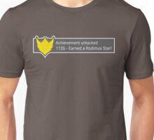 Achievement Unlocked! Earned a Rodimus Star! Unisex T-Shirt
