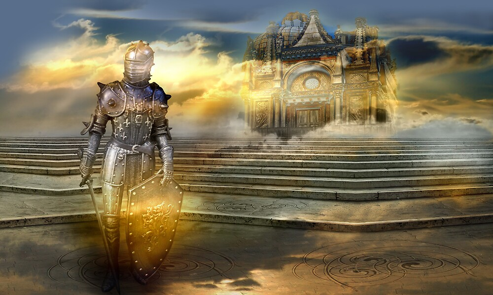 The guardian of the celestial palace by sattva