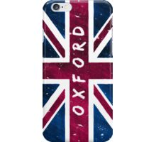 Oxford British Union Jack Flag iPhone Case/Skin