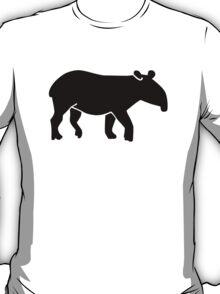 Black tapir T-Shirt