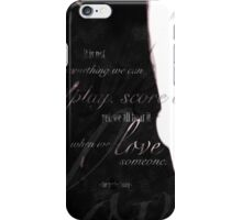 perfect song | poster (692) iPhone Case/Skin