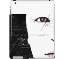 perfect song | poster (692) iPad Case/Skin