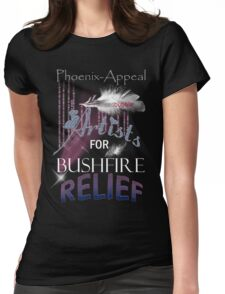 Artists for Bushfire Relief Womens Fitted T-Shirt