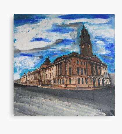Hull, Guildhall Canvas Print