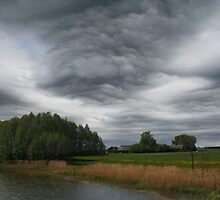 Extraordinary Clouds by Antanas