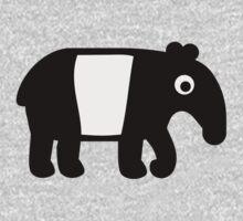 Comic tapir Kids Clothes