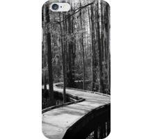 Boardwalk at Woods Bay State Park iPhone Case/Skin
