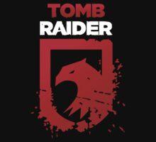 Tomb Raider Eagle (white text) T-Shirt