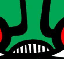 Space Monster Sticker