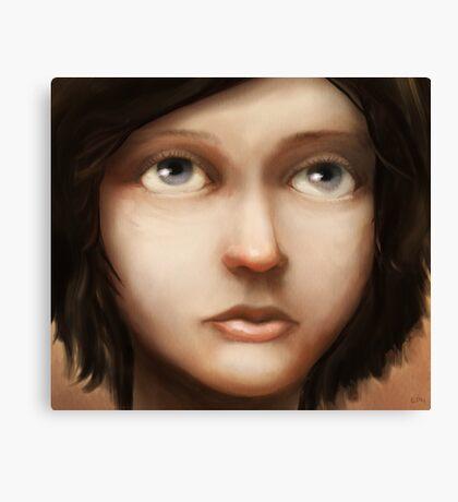 Portrait of Vela Canvas Print