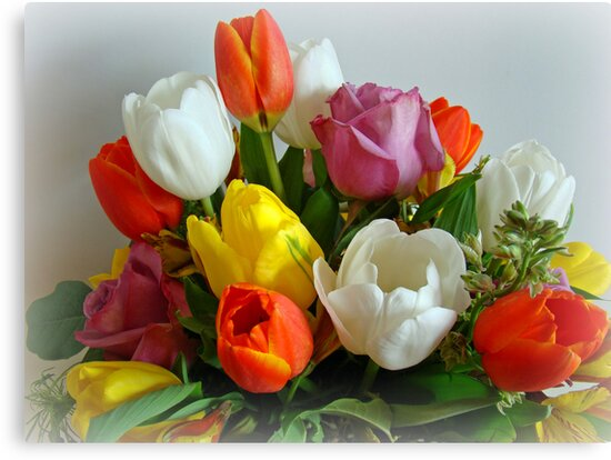 Spring Blooms by Sandy Keeton