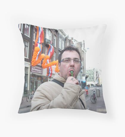 Happiness Throw Pillow