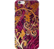 Thai Patterns an acrylic painting iPhone Case/Skin
