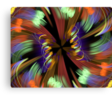 Color Explosion Canvas Print