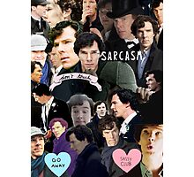 Sherlock Collage Photographic Print