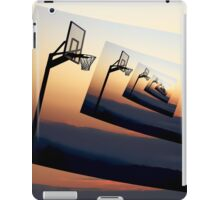 Basketball Hoop Silhouette iPad Case/Skin