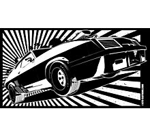 Mad Max inspired Last V8 Ford Falcon Photographic Print