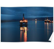 Cromarty Firth, NE Scotland Poster