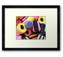 Liquorice Allsorts - You May Take One! Framed Print