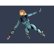 Zero Suit Samus flying Photographic Print
