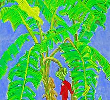 Thai Banana Trees by James Lewis Hamilton