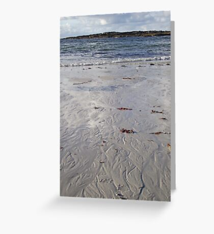Sanna Bay, Ardnamurchan.  Greeting Card