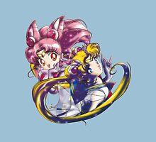 Super Sailor Moon & Chibi Moon (edit 1/A) Unisex T-Shirt