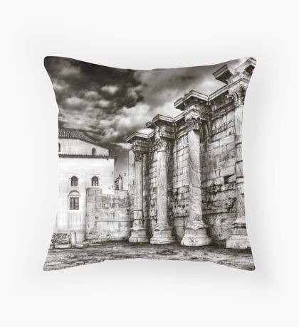 Monastiraki Throw Pillow