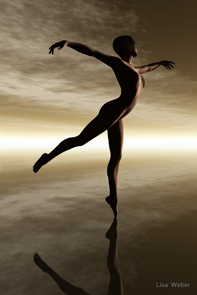 The Dance of Natural Beauty by Lisa  Weber