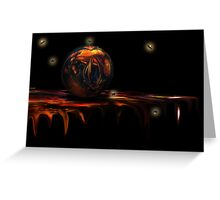 The Orb Greeting Card