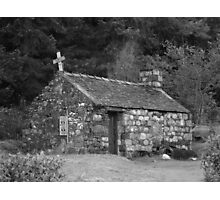 St Johns church, Glencoe Photographic Print
