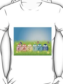 Colorful Easter Eggs T-Shirt