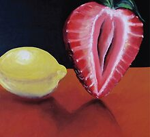 Strawberry and lemon by AnastasiaNensy