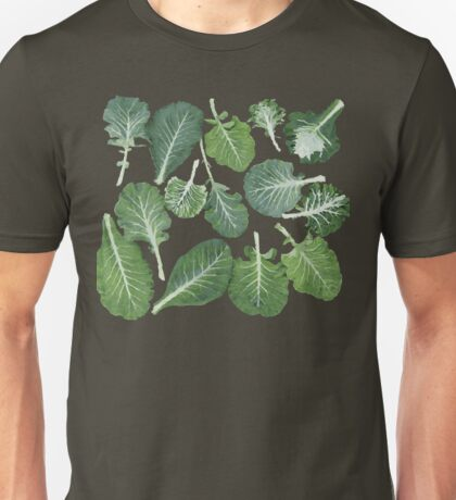 We're eating these wonderful collard greens... Unisex T-Shirt