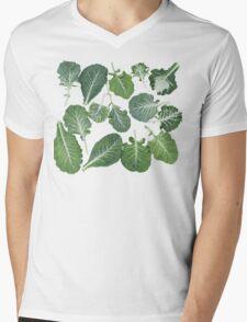We're eating these wonderful collard greens... Mens V-Neck T-Shirt