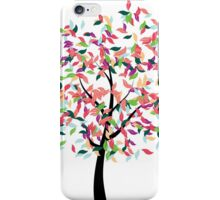 Colorful Tree 2 iPhone Case/Skin