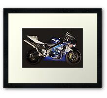 See-Through GSXR Framed Print