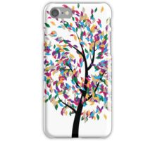 Colorful Tree 3 iPhone Case/Skin